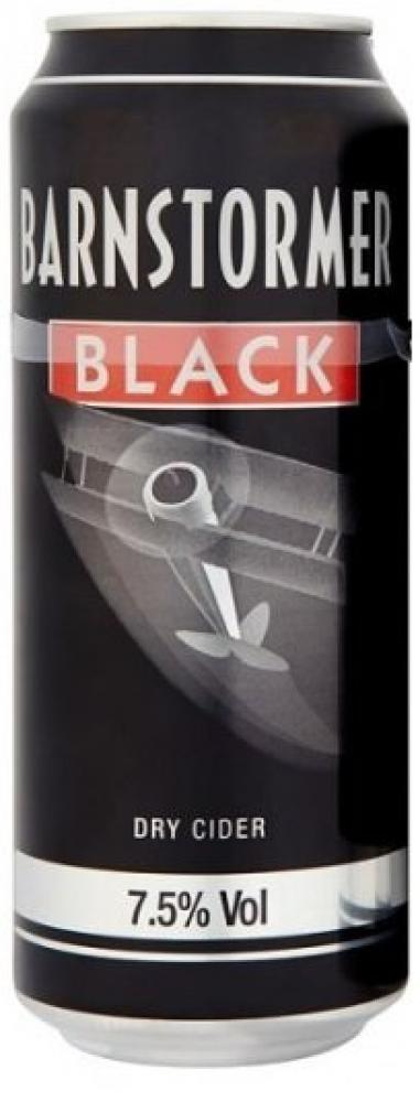New Product Barnstormer Dry Black Cider